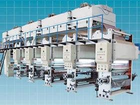 简述在印刷品表面上UV机上光油的工序