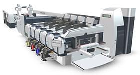 柔印机加装UV设备