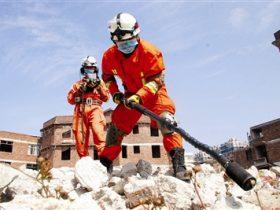 云南景谷6.6级地震,翁总所带领的救援队伍赶赴现场