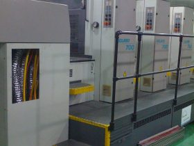 曼罗兰700胶印机加装UV