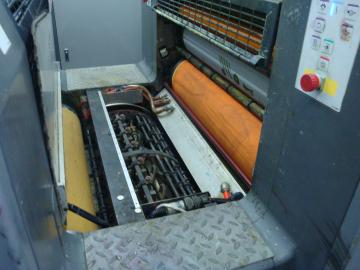 海德堡CD74胶印机加装UV2