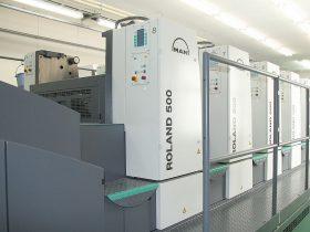 曼罗兰500胶印机加装UV