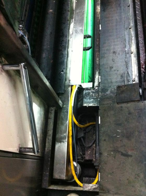 三菱胶印机加装UV2