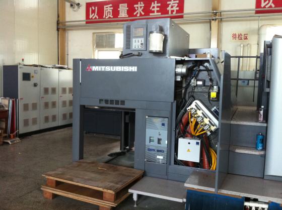 三菱胶印机加装UV3