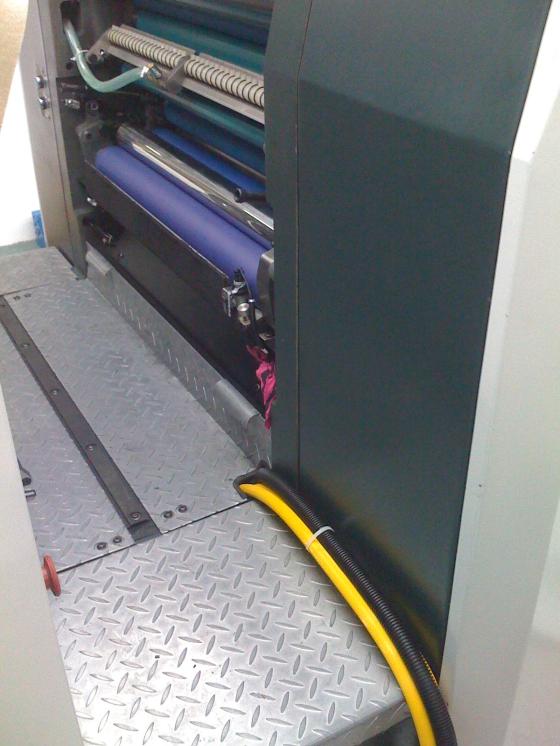 光华胶印机加装UV2