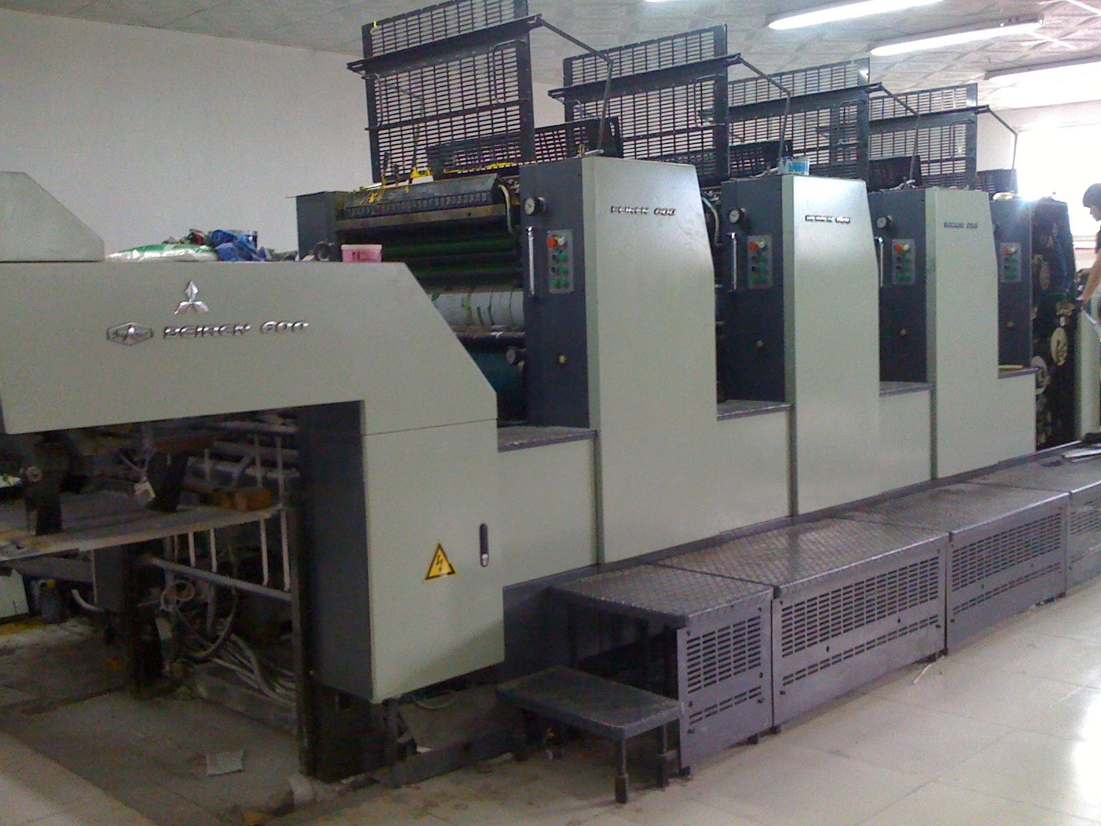 北人胶印机加装UV