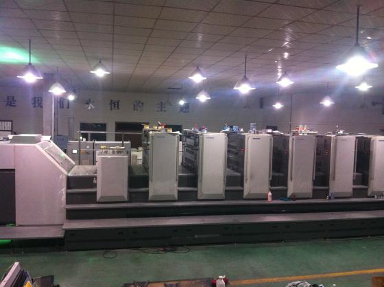 小森L40胶印机加装UV1