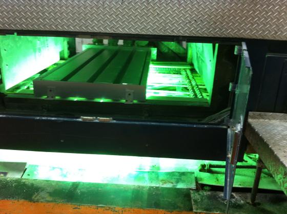 小森L40胶印机加装UV3