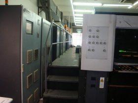 海德堡CD74胶印机加装UV