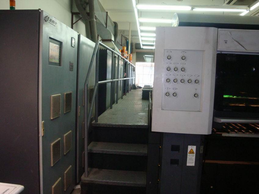 海德堡CD74胶印机加装UV3