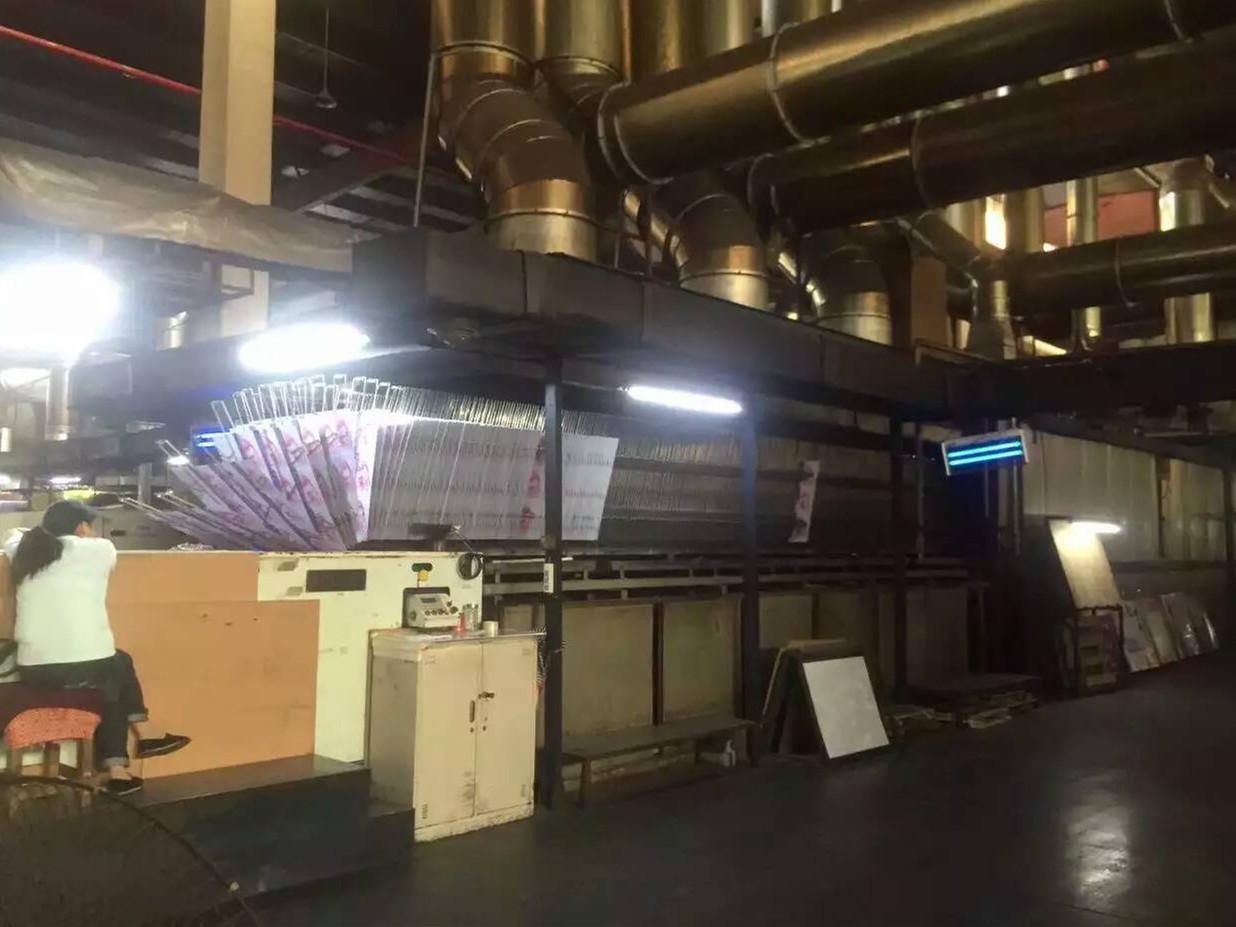 马口铁印刷机加装UV设备1