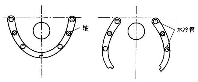 两扇反光罩旋转式光闸