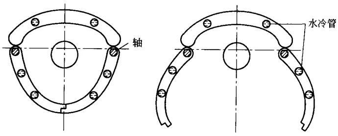 门式反光罩旋转光闸