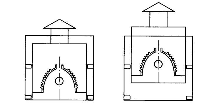 UV灯罩可从灯箱背后取出灯箱结构