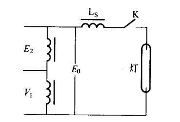 漏磁变压等效电路