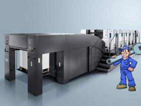 印刷设备的定期保养检修