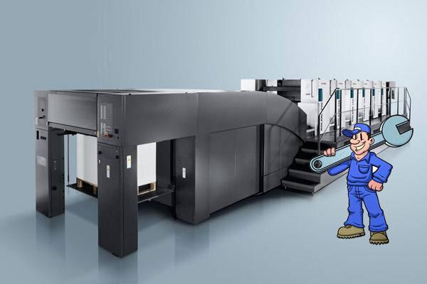 印刷设备保养